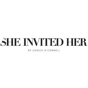 logo design for She Invited her logo design