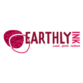 earthly ink logo design Newcastle
