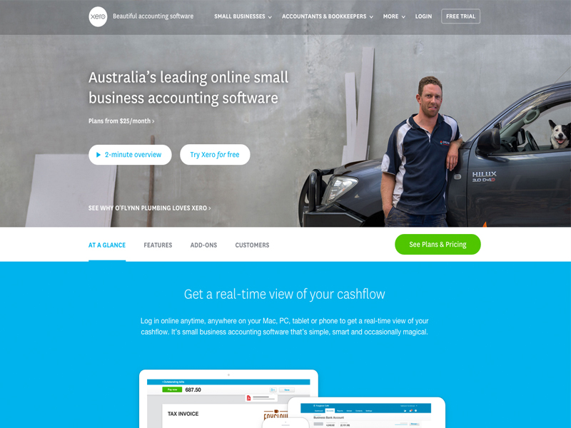 xero, online tools for startups