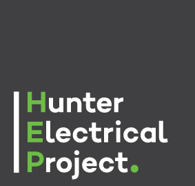 Hunter Electrical Project logo design