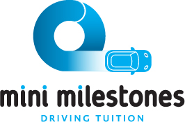 Mini Milestones Driving Tuition Logo Design